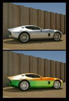 Ford shelby.. by suicidesheep