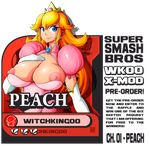 SUPER SMASH BROSS WK00 X-MOD PRE-ORDER!! and APRIL by Witchking00