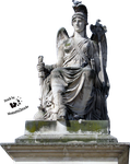 Cut-out stock PNG 50 - goddess statue The History by Momotte2stocks