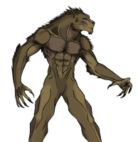LOK Werewolf 2 by Arrancarfighter