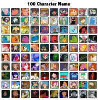 E-witches 100 character meme by Energywitch