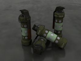 M-84 Tactical Stun Grenade by thejohan