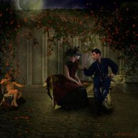 Der Antrag - The marriage proposal by rembrantt