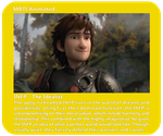 Dreamworks INFP - Hiccup Horrendous Haddock III by MountainLygon