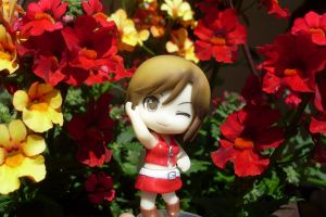 Lady in red, Meiko by Mako-chan89