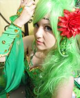 Rydia of the Mist Cosplay by SusanEscalante