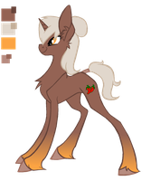 Chili Chipotle color ref and bio by Fluffomaru