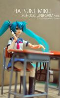 Hatsune Miku School Uniform Ver. by iDragon88