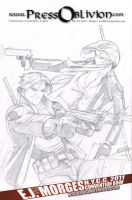 Sniper and Rook for John Metych by EJMorges