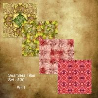 Seamless Tiles Set 1 by oldhippieart