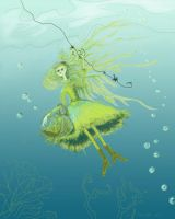 little seaweed girl by matchstickgirl