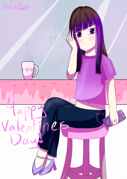 Let's Drink Coffee, On Valentines Day... by FreshMintz82