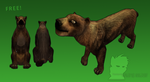 [ FeralHeart ] FREE! Grizzly Bear Preset by 0Abarai0