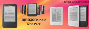 Amazon Kindle Icons Pack by davinci1993