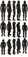 Mass Effect, Female Onyx N7 Armour Medium by Troodon80
