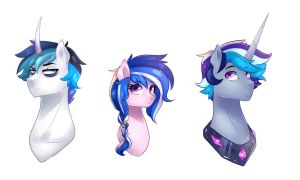 my shining armor and cadence Fankids by kraytt-05