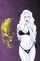 Lady Death NYCC Friday by MDiPascale