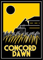 Concord Dawn Art Deco Poster by Karlika