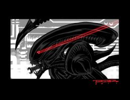 Aliens vs. Predator by AshcanAllstars