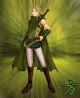 New Link from Zelda 2 by xIchixCoolxGirlx