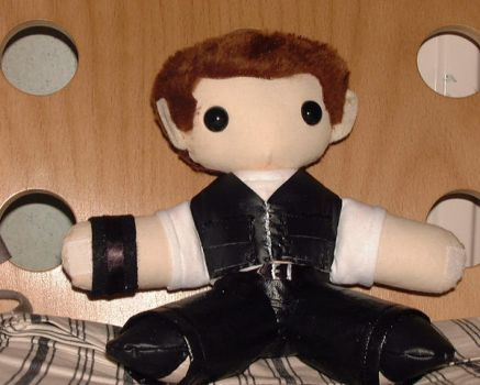 Captain Jack Harkness Plushie by BarrowmanFan
