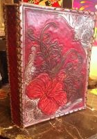 Leather Book Front by StudioGruhnj