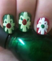 Gift Wrap Nails by MissDaniLips