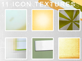 11 icon textures by Kiho-chan