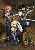 Future ANBU - TEAM7 by far-eviler