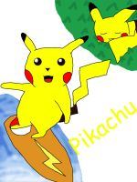 Pikachu for a friend by dance790