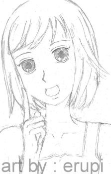 Nodame drawn in erupi's style by erupi