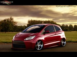 Ford Ka My Pitbull by bendesign