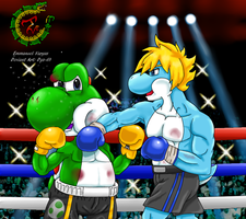 Commission: Yoshi Vs. Brute! by Dyz-69