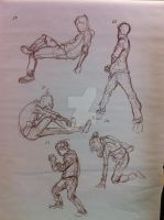 some new life drawing by WindOfSmile
