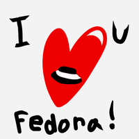 Fedora love - One year anniversary gift by 344forever