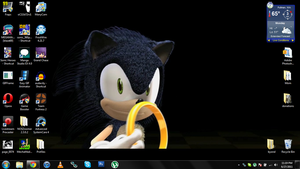 Sonic wallpaper from teaser by jrc1120