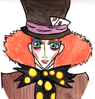 Hatter Quick Sketch and Paint by Orihara-San