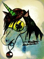 I'm Party Poison NOT a Unicorn by MSorrows