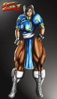 CHUN LI FOR SF TRIBUTE by B9TRIBECA