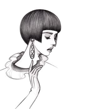 And that's how you rock the bowl cut by Fli-nn