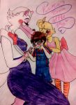 Brave little boy- MAMA MANGLE CONTEST by darkness-angel-13