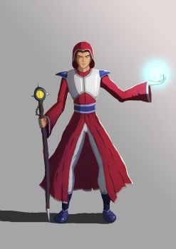 Wizard (Schoolism Assignment) by Thunder-B