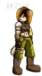 Commish:. Winter the Stoat! by XaveNDaNirvana