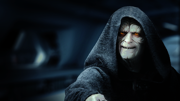 Star Wars -  The Emperor Palpatine by Aste17