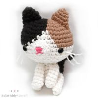 Calico Cat Amigurumi by adorablykawaii