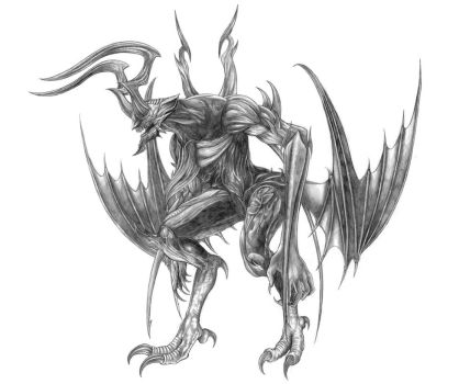 Final Fantasy XV - Foras(Daemon of Zegnautus Keep) by SoulStryder210
