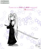 700 and 800 pageviews.. by Dragoonsa