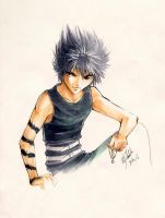 YYH: Hiei by Atomic-Clover
