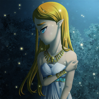 Breath of the Wild: Princess Zelda by Icy-Snowflakes