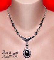 Nocturne Muse Pendant Necklace by Valerian